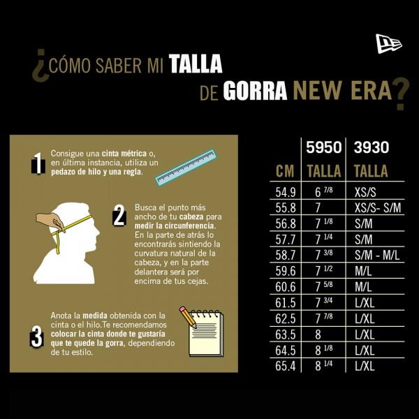 """GORRA NEW ERA 59FIFTY """"U"""""""