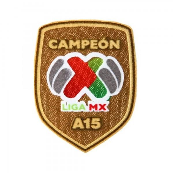 PARCHE-ESCUDO CAMPEON APERTURA LIGA MX 2015