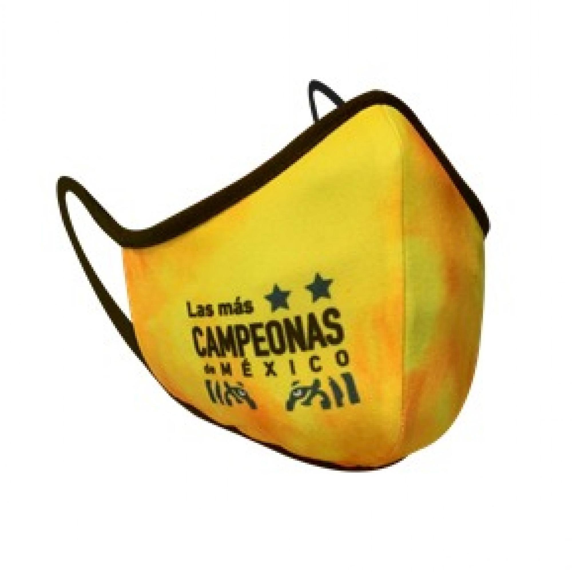 """CUBRE BOCAS """"LAS MÁS CAMPEONAS DE MÉXICO"""""""